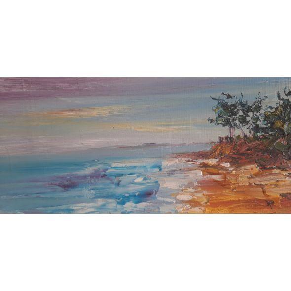Summer sun over the Trees of Burrow Beach
